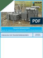 Clase 3 - Autotransformadores y Paralelo de Transformadores