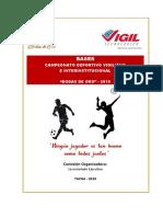 Bases Campeonato Deportivo