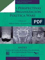 Nuevas perspectivas de organización política wari