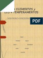 Los 4 Elementos y Temperamentos
