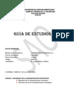 Guía de estudio N° 1  Plani Estrag II