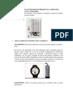 Aplicaciones de Los Sensores de Presión en La Industria
