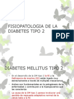 Fisiopatologia de La Diabetes Tipo 2