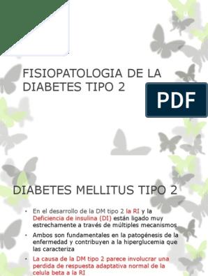 patogénesis de pre-diabetes