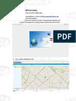 Latin tracker- uso servidor