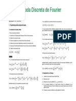Transformada Discreta de Fourier Ejemplos