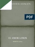 EL AMOR A DIOS