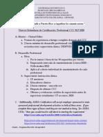 orientacion estandares de certificacion 2020