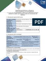 Guía de Actividades y Rúbrica de Evaluación - Pretarea