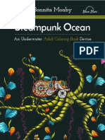 Bonnita Moaby - Steampunk Ocean - A Nautical Adult Coloring Book Device - 2016