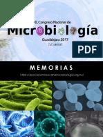 Memorias XL Congreso Nacional Microbiologia 1