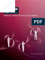 Manual Para Oficiales de Mesa FIBA ESPAÑOL