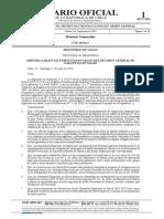 DS N° 22 de 2019 - Ministerios de Salud y Hacienda