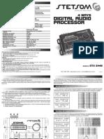 Stetsom Processador Manual Stx2448 r3
