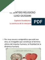 EL SENTIDO RELIGIOSO. Cap. 12 La aventura de la interpretación.pptx