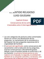 EL SENTIDO RELIGIOSO. Cap. 8 Consecuencias de las actitudes irrazonables.pptx