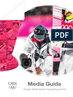OBS MEDIA GUIDE OLIMPYC GAMES