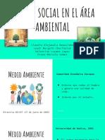 Trabajo Social en El Área Ambiental. 1