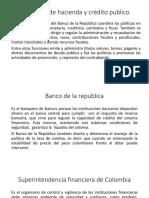 Ministerio de Hacienda y Crédito Publico