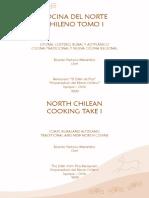 Cocina Del Norte Chile Tomo 1