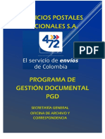 Programa de Gestion Documental