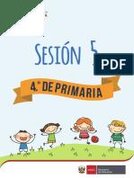 Sesion Primaria Eduacion Fisica