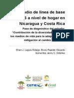 Working Paper Reporte CCAFS Linea Base 2012