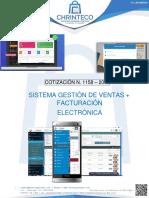 Cotización 1158-2019 Facturación Electrónica