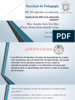La Inclusión de Los Ava en La Educación Superior
