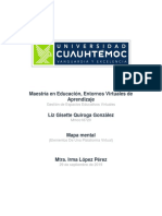 Liz Gisette Quiroga González Act 2.1 Mapa Mental