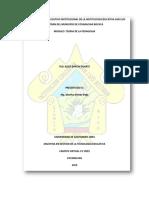 Analisis Proyecto Educativo Institucional Pei