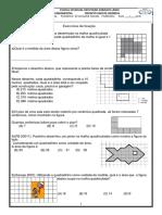 Atividade Matemática 4º Ano