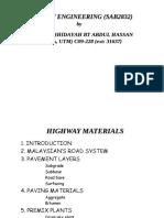 Highway Material 1