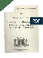 História da missão dos padres capuchinhos na ilha do Maranhão