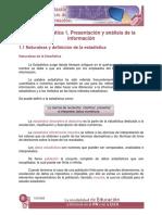 EPN u1 Presentacion y Analisis de La Informacion