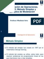 Clase 4 - Metodo Simplex