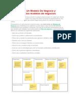 Cómo Hacer Un Modelo de Negocio y Ejemplos de Los Modelos de Negocios