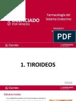 Tiroideos y Antitiroideos