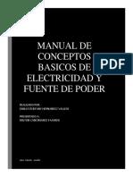Manual de Conceptos Basicos de Electricidad y Fuente de Poder