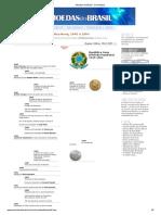 Moedas Do Brasil - Cronologia 06