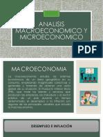 Analisis Macroeconomico y Microeconomico