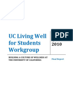 Living Well Workgroup Report
