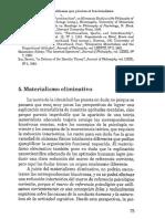 6.1 Paul Churchland - El Materialismo Eliminativo