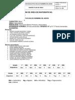 Plan de Área Matematicas 2017_ultima Versión (1)