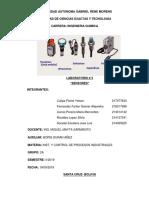 Sensores en Quimica Industrial