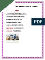 Informe de Legislacion Tributaria