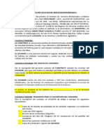Contrato Motorizado[ DELIVERY
