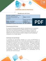 Presentación del Curso Protocolo