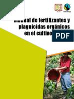 Manual de fertilizantes y plaguicidas organicos
