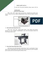 Mesin Jahit Manual Dan Mesin Jahit Industri